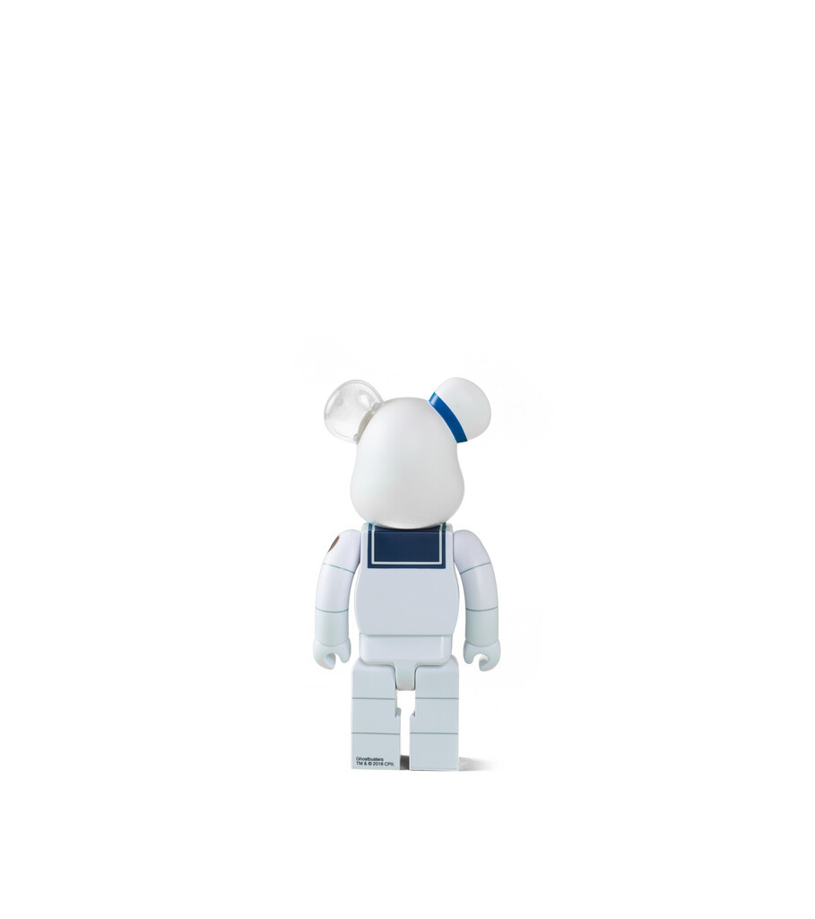"Ghostbuster Stay Puft Marshmallow Man 400% Be@rbrick ""Anger Face""-3"