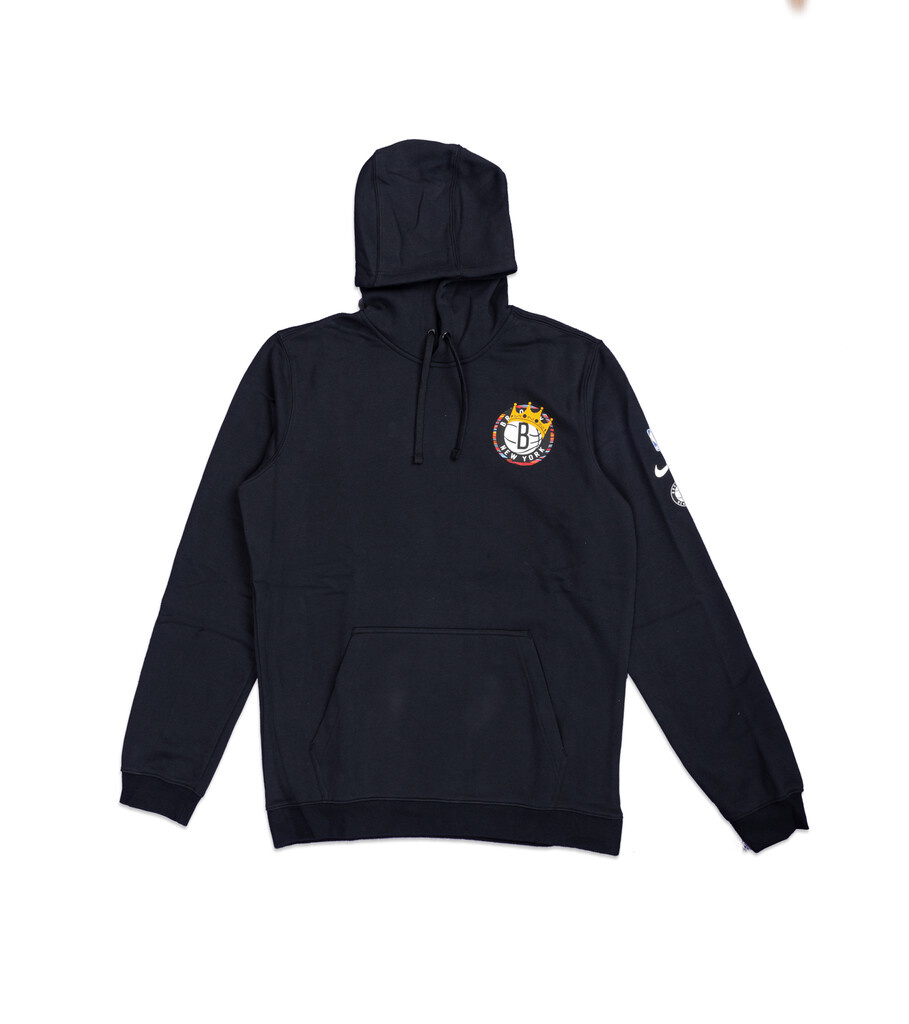 "Brooklyn Nets Biggie Hoodie ""Black""-1"