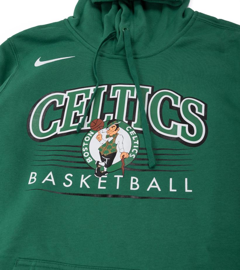 "Boston Celtics Basketball Hoodie ""Clover""-2"