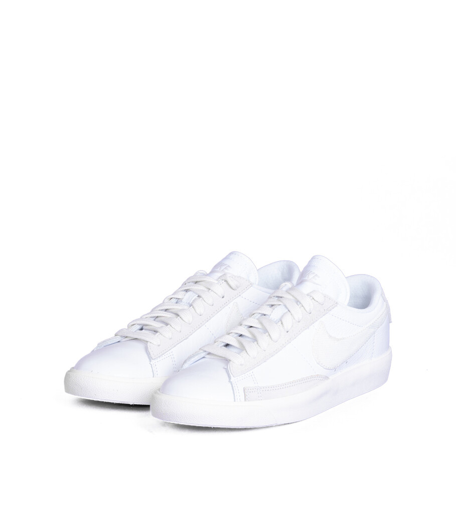 "Blazer Low Leather ""White/Sail""-1"