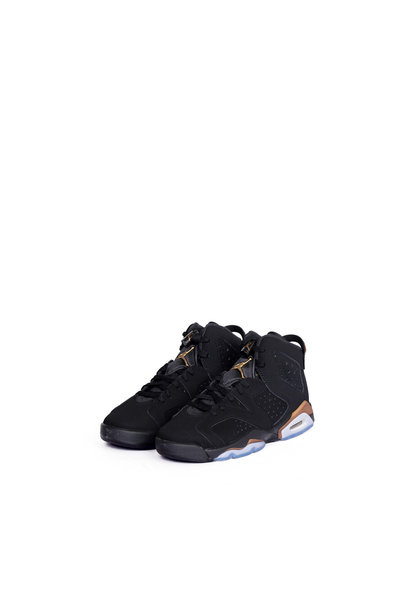 "6 Retro SE DMP (GS) ""Black/Metallic Gold"""