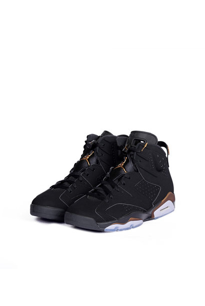 "6 Retro SE DMP ""Black/Metallic Gold"""
