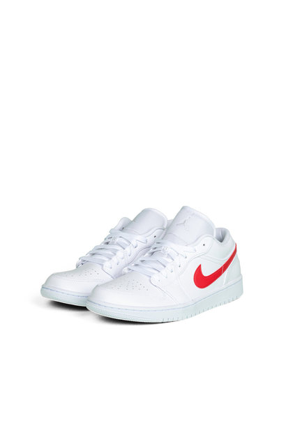 "W 1 Low ""White/University Red"""