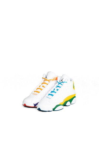 "13 Retro (GS) KSA Playground ""White/Multicolor"""