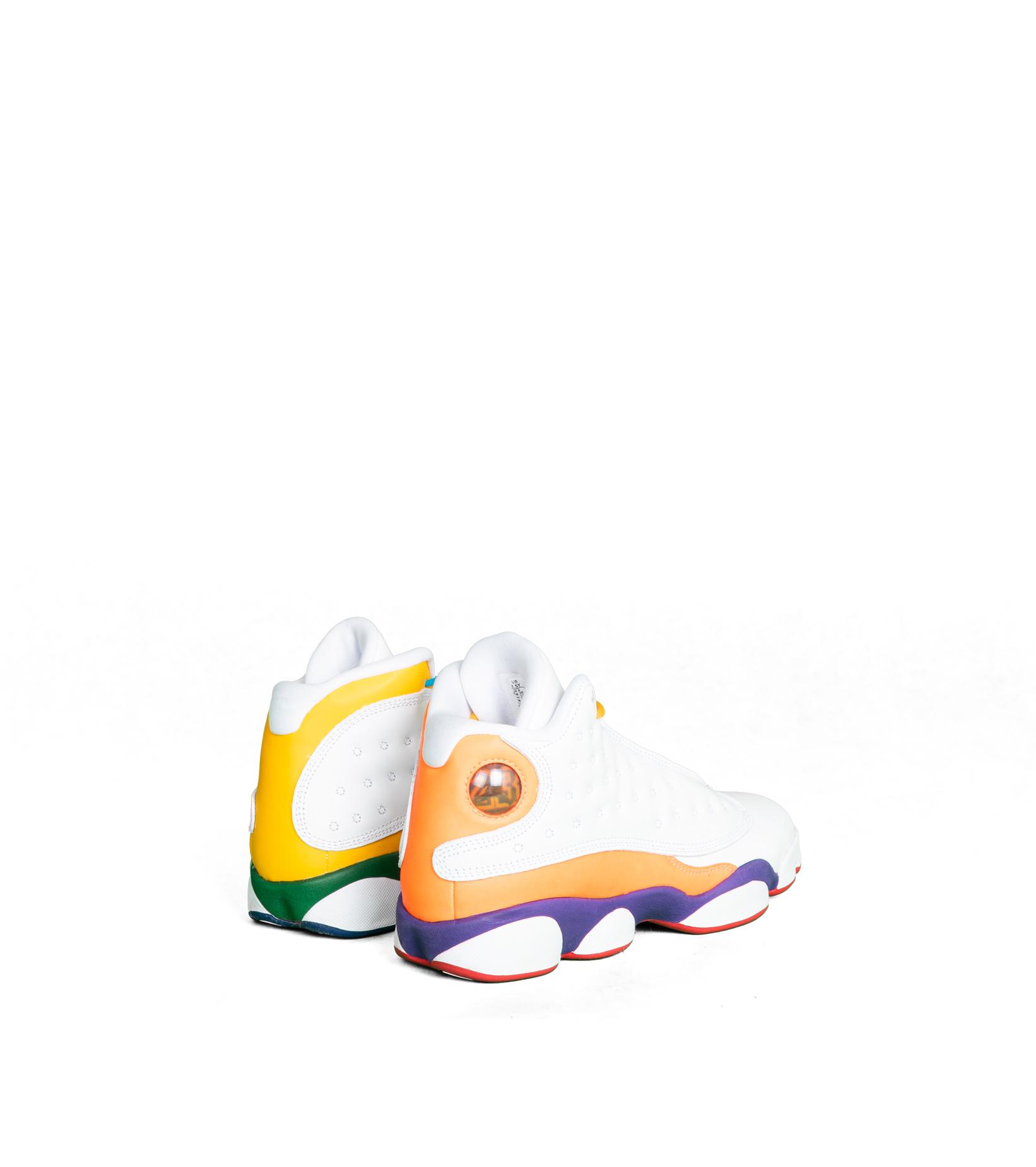 """13 Retro (GS) KSA Playground """"White/Multicolor""""-2"""