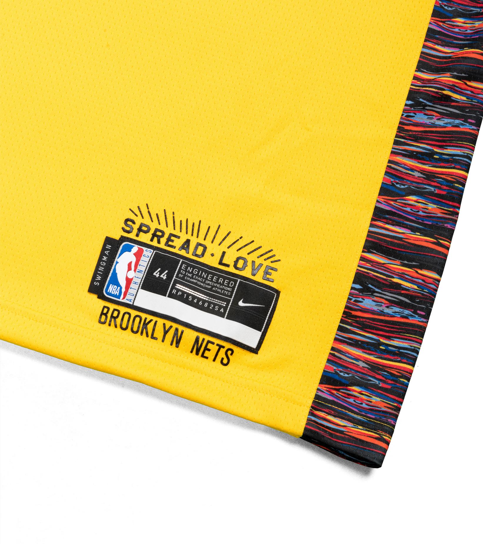 """Brooklyn Nets Biggie Swingman Jersey """"Amarillo""""-2"""