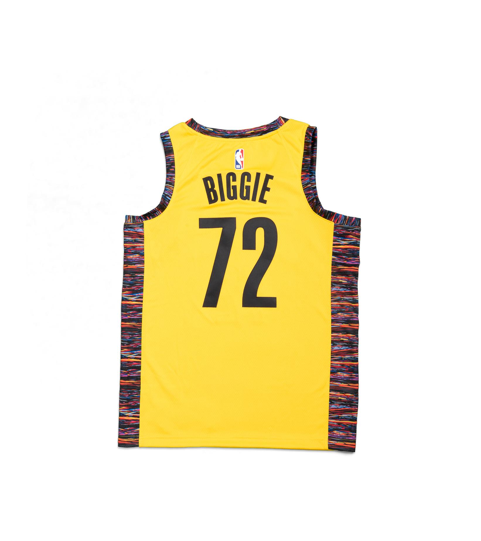 """Brooklyn Nets Biggie Swingman Jersey """"Amarillo""""-4"""