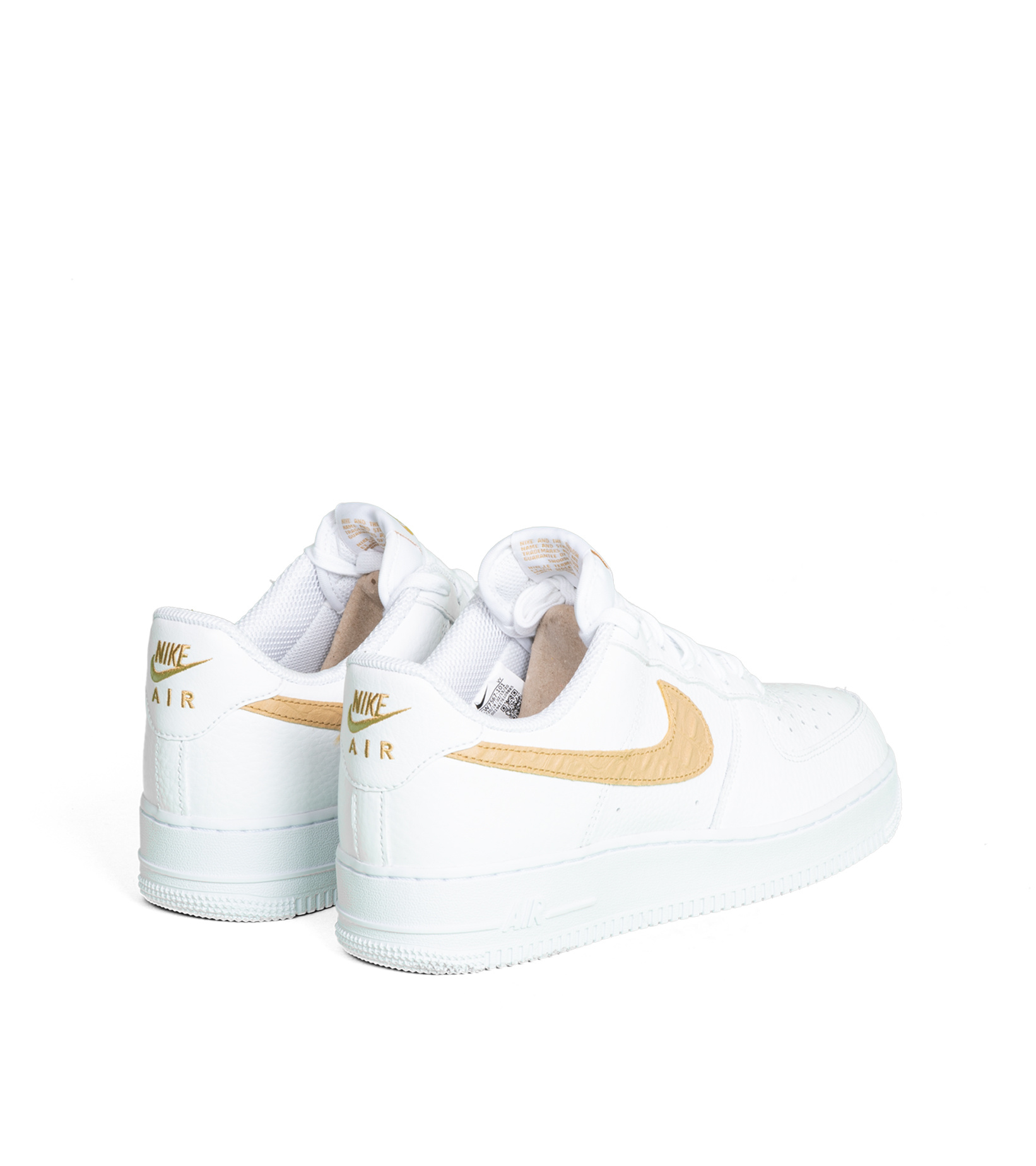 "Air Force 1 LV8 ""White/Club Gold""-2"