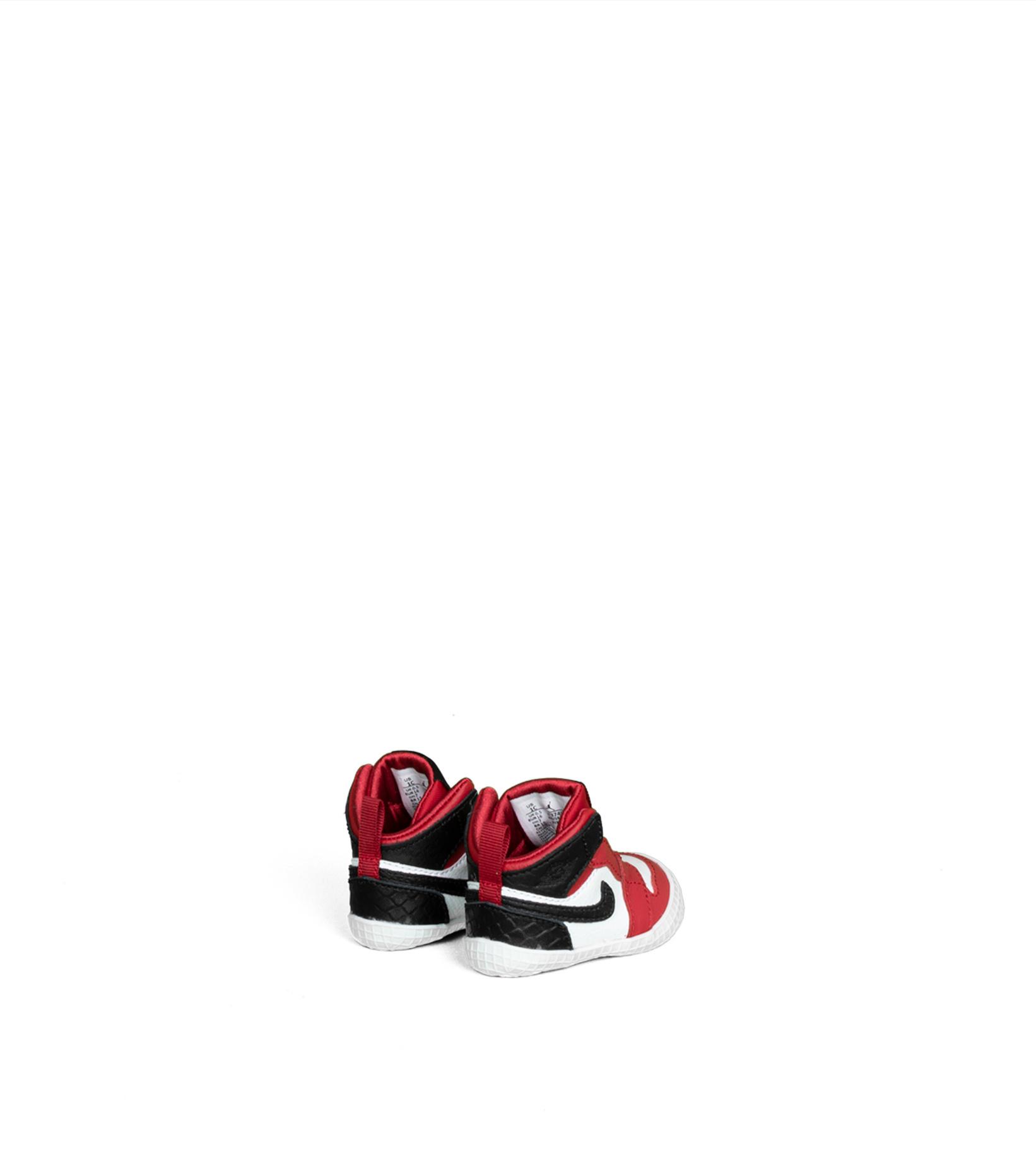 "1 Crib Bootie (TD)  ""Gym Red/Black""-2"