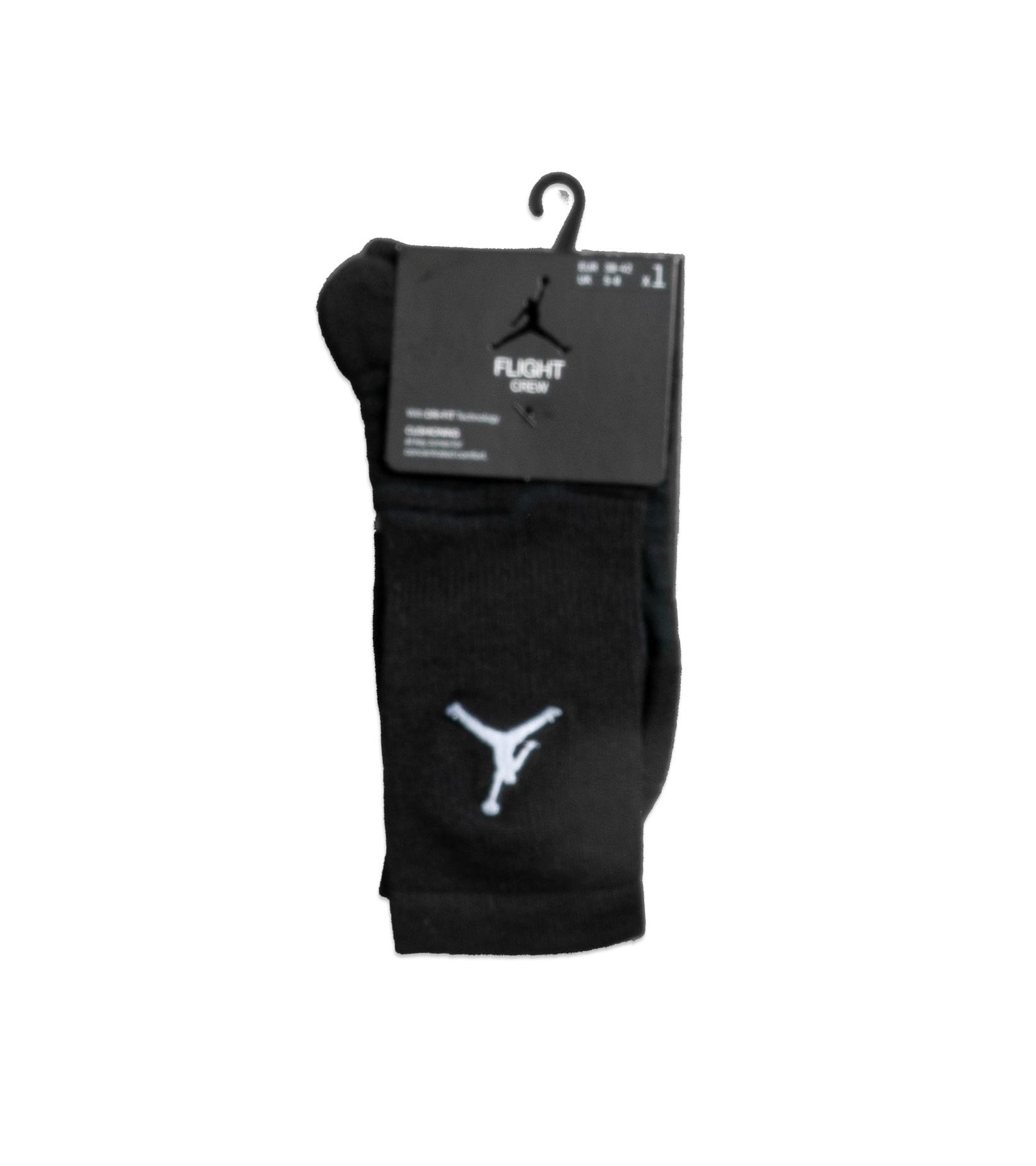 """Flight Crew Socks """"Black/White""""-1"""