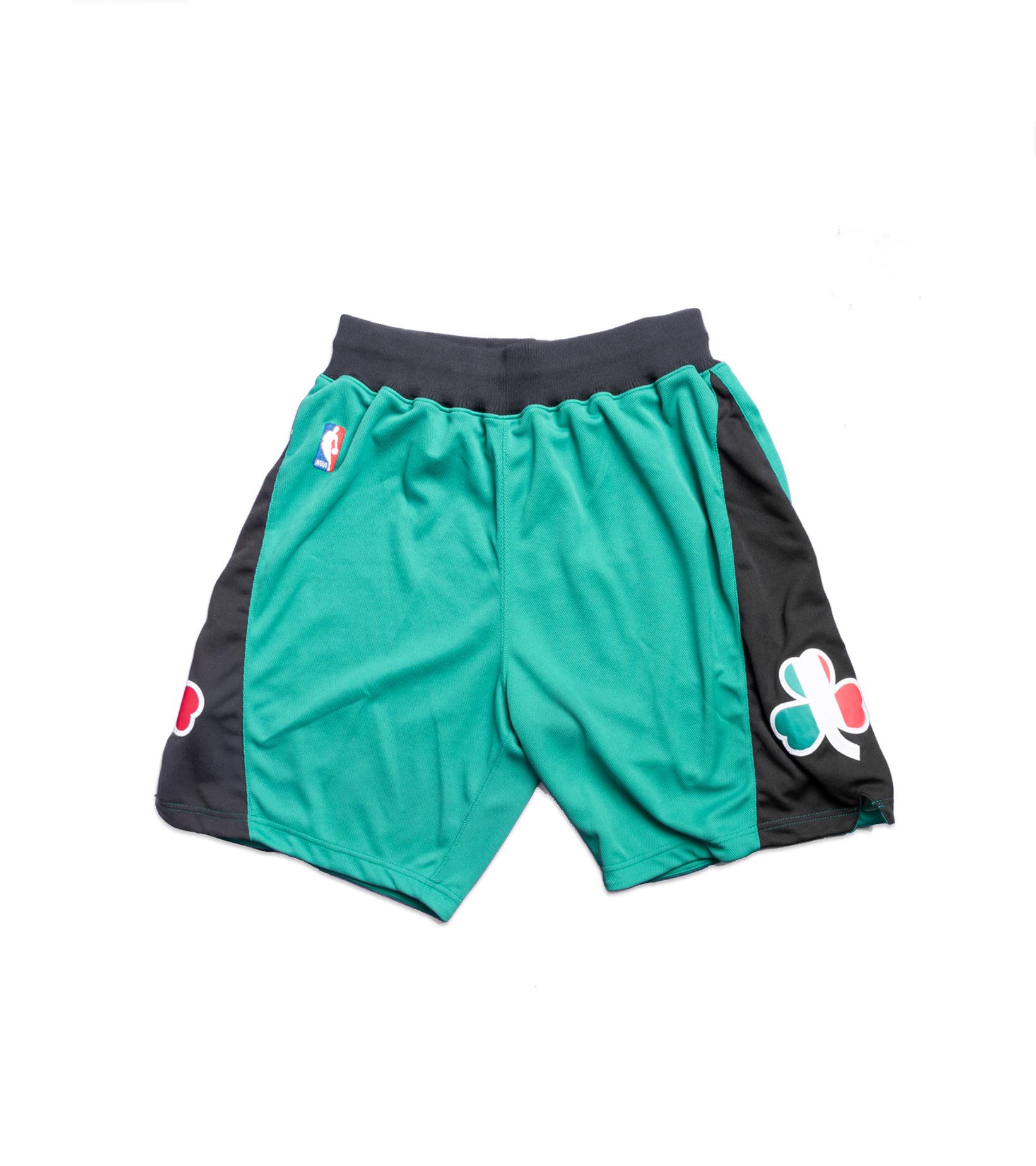 """Boston Celtics '07-'08 Authentic Italy Short """"Kelly Green""""-1"""