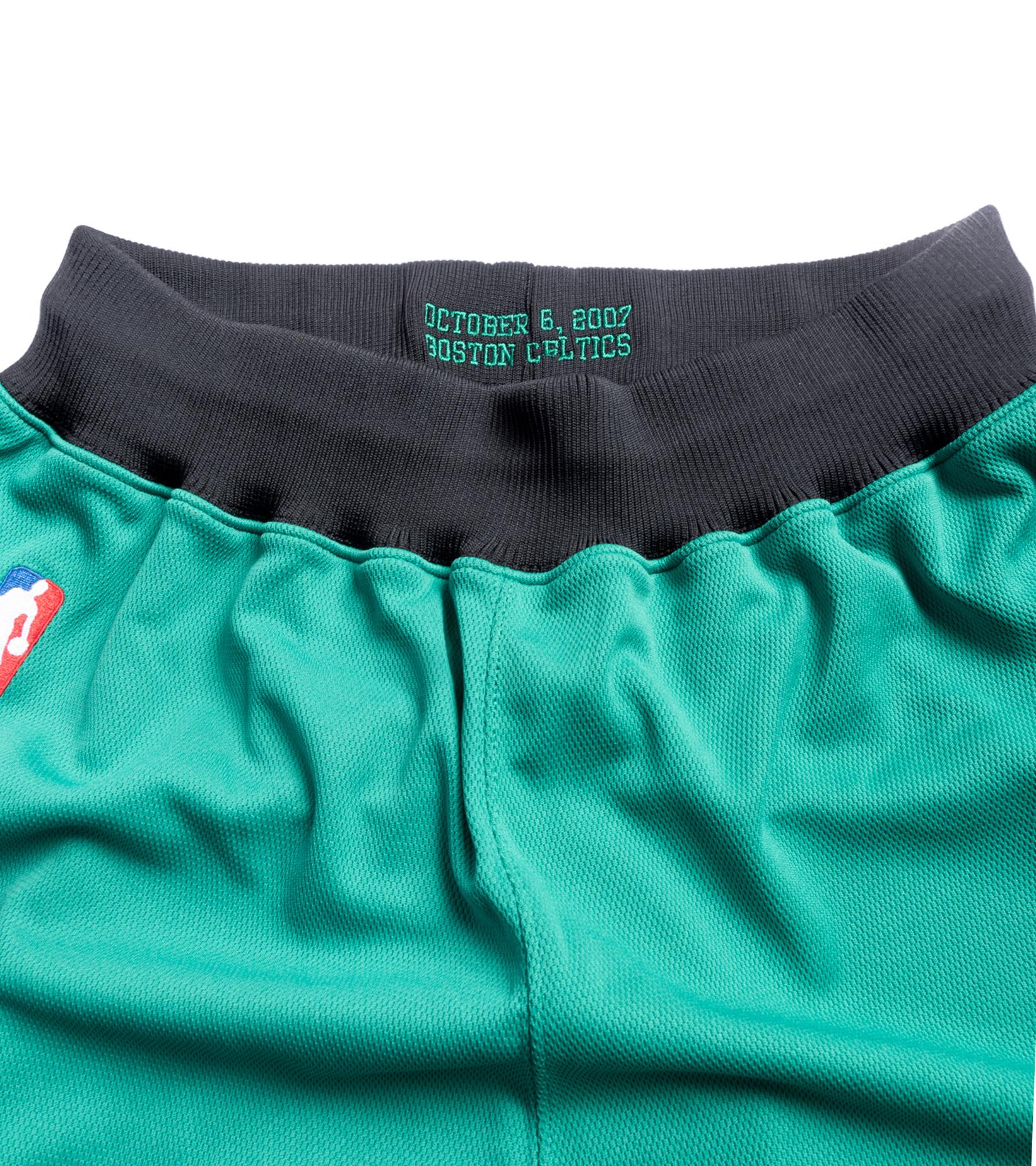 """Boston Celtics '07-'08 Authentic Italy Short """"Kelly Green""""-2"""