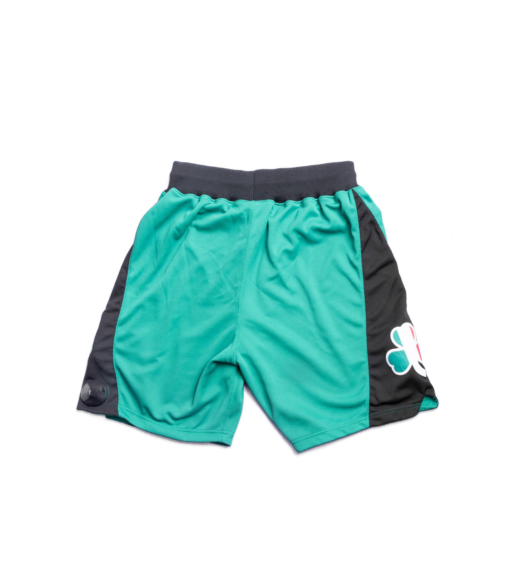 """Boston Celtics '07-'08 Authentic Italy Short """"Kelly Green""""-4"""