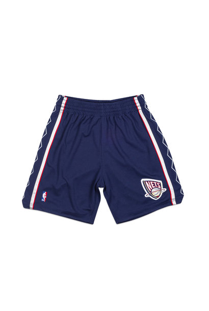 "New Jersey Nets '06-'07 Authentic Road Short ""Astros Blue"""