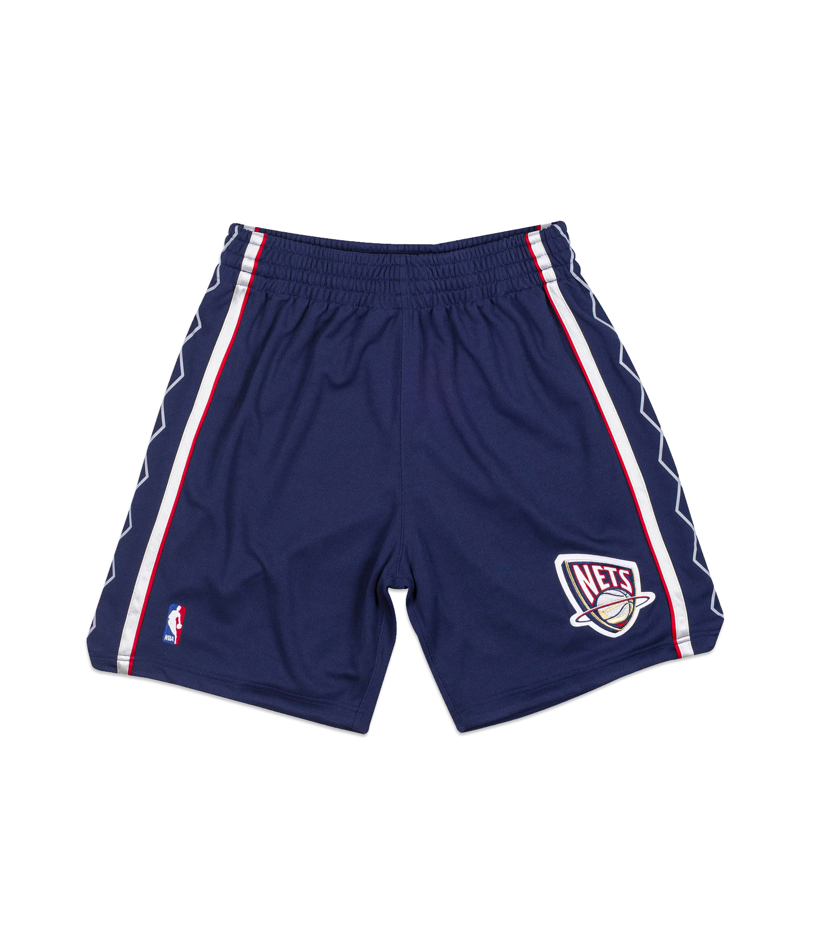 """New Jersey Nets '06-'07 Authentic Road Short """"Astros Blue""""-1"""