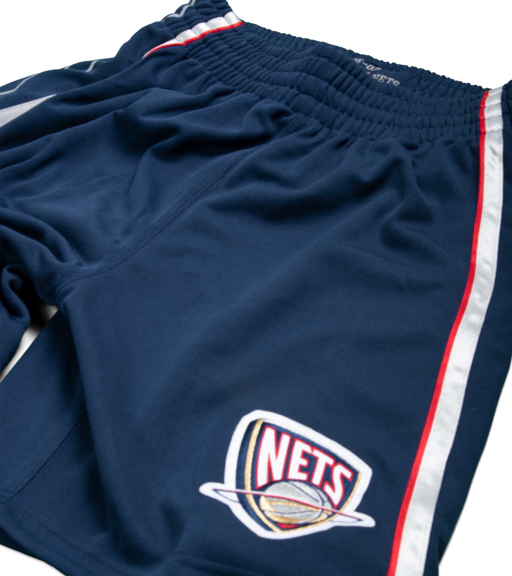 """New Jersey Nets '06-'07 Authentic Road Short """"Astros Blue""""-2"""