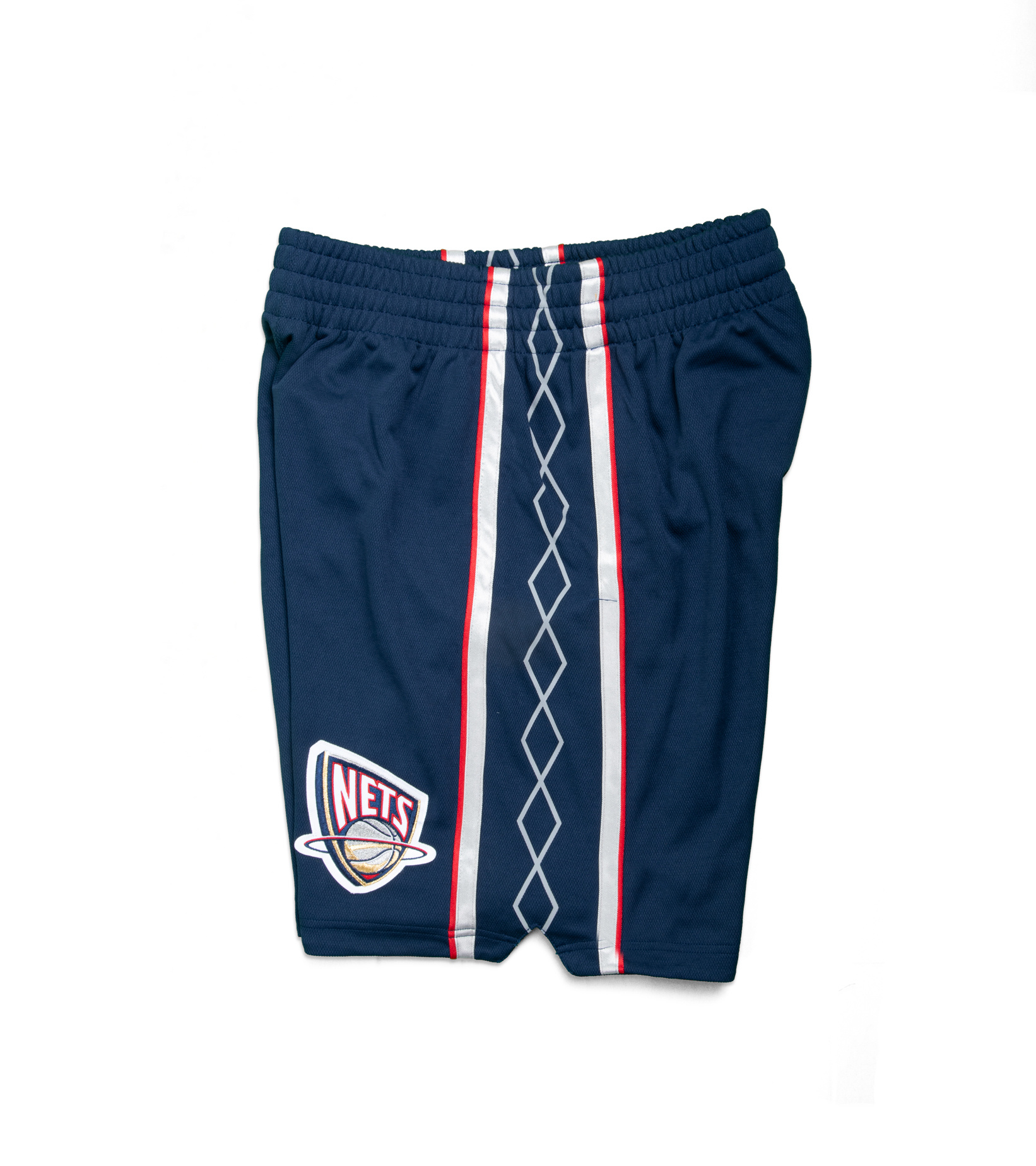 """New Jersey Nets '06-'07 Authentic Road Short """"Astros Blue""""-3"""