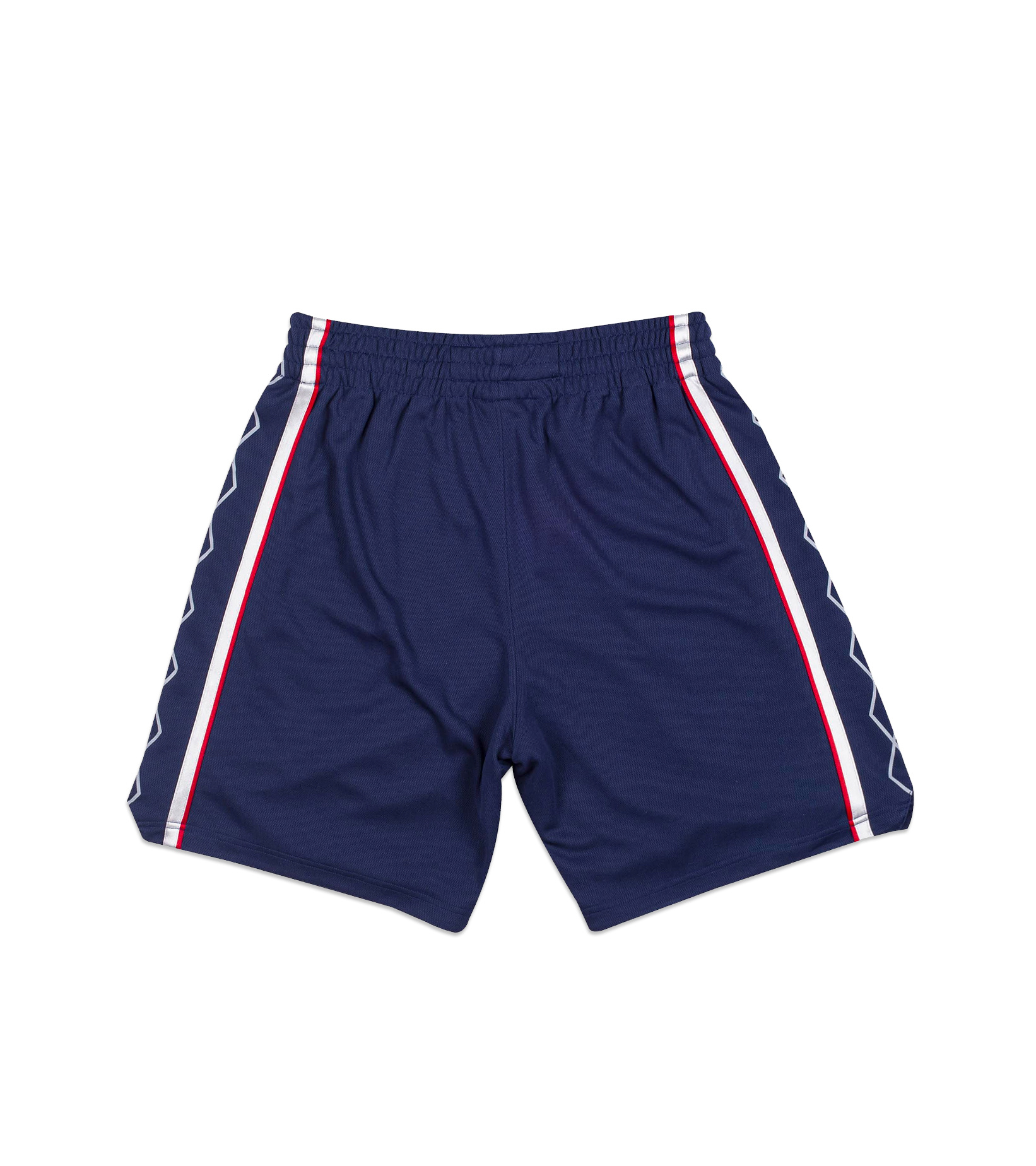 """New Jersey Nets '06-'07 Authentic Road Short """"Astros Blue""""-6"""