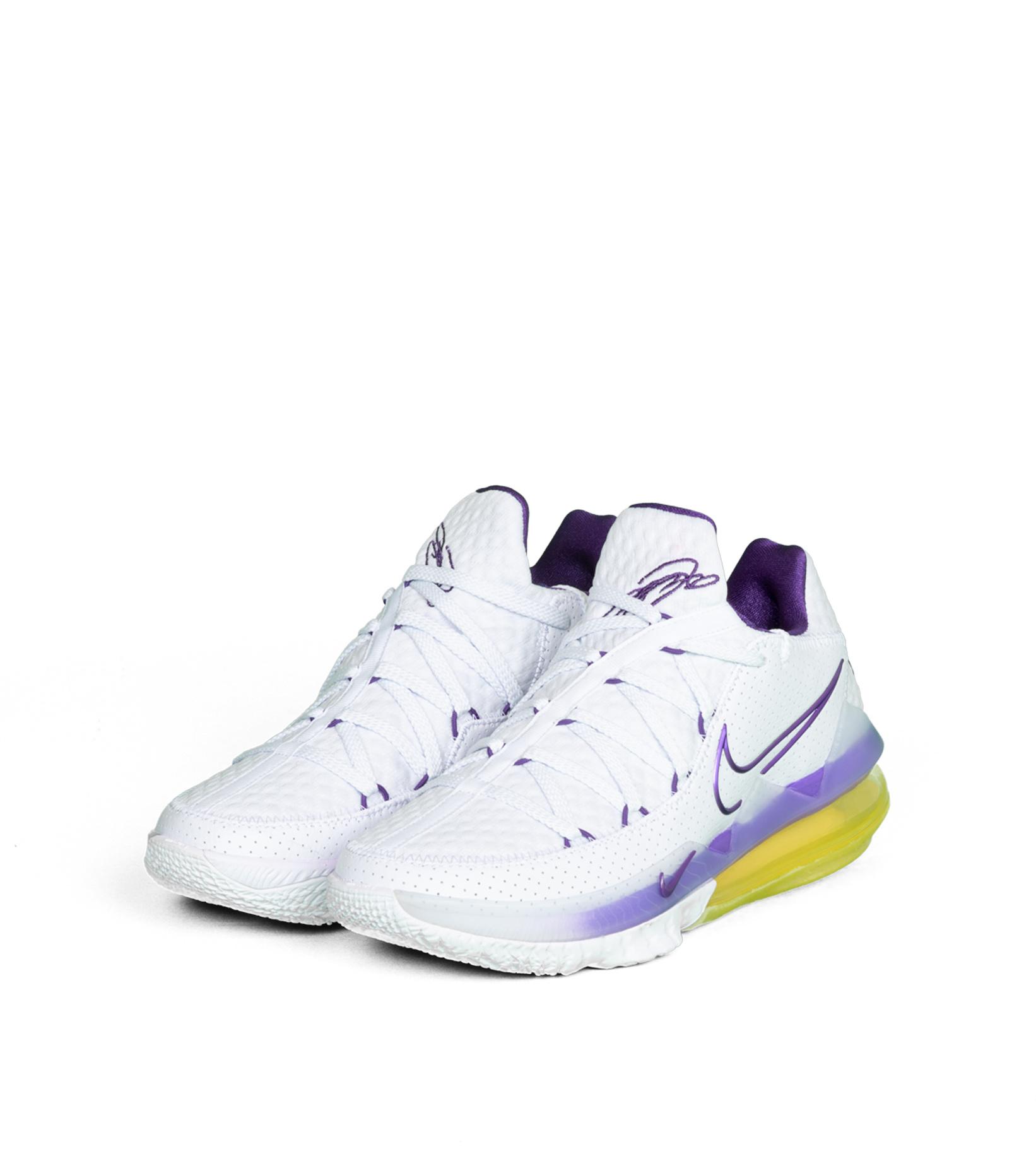 """LeBron XVII (17) Low """"Lakers""""-1"""