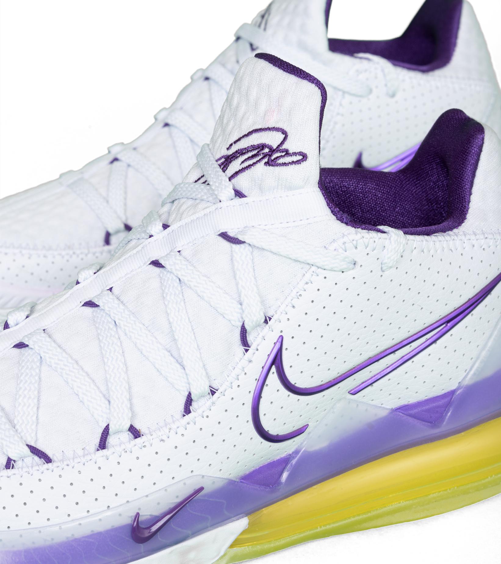 """LeBron XVII (17) Low """"Lakers""""-5"""