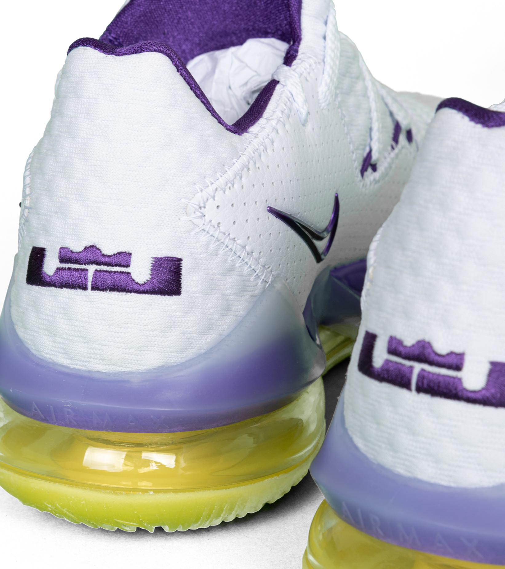 """LeBron XVII (17) Low """"Lakers""""-6"""