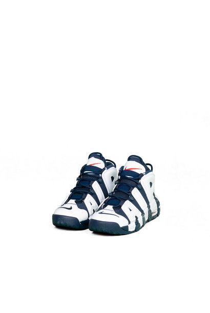 "Air More Uptempo (GS) ""White/Midnight Navy"""
