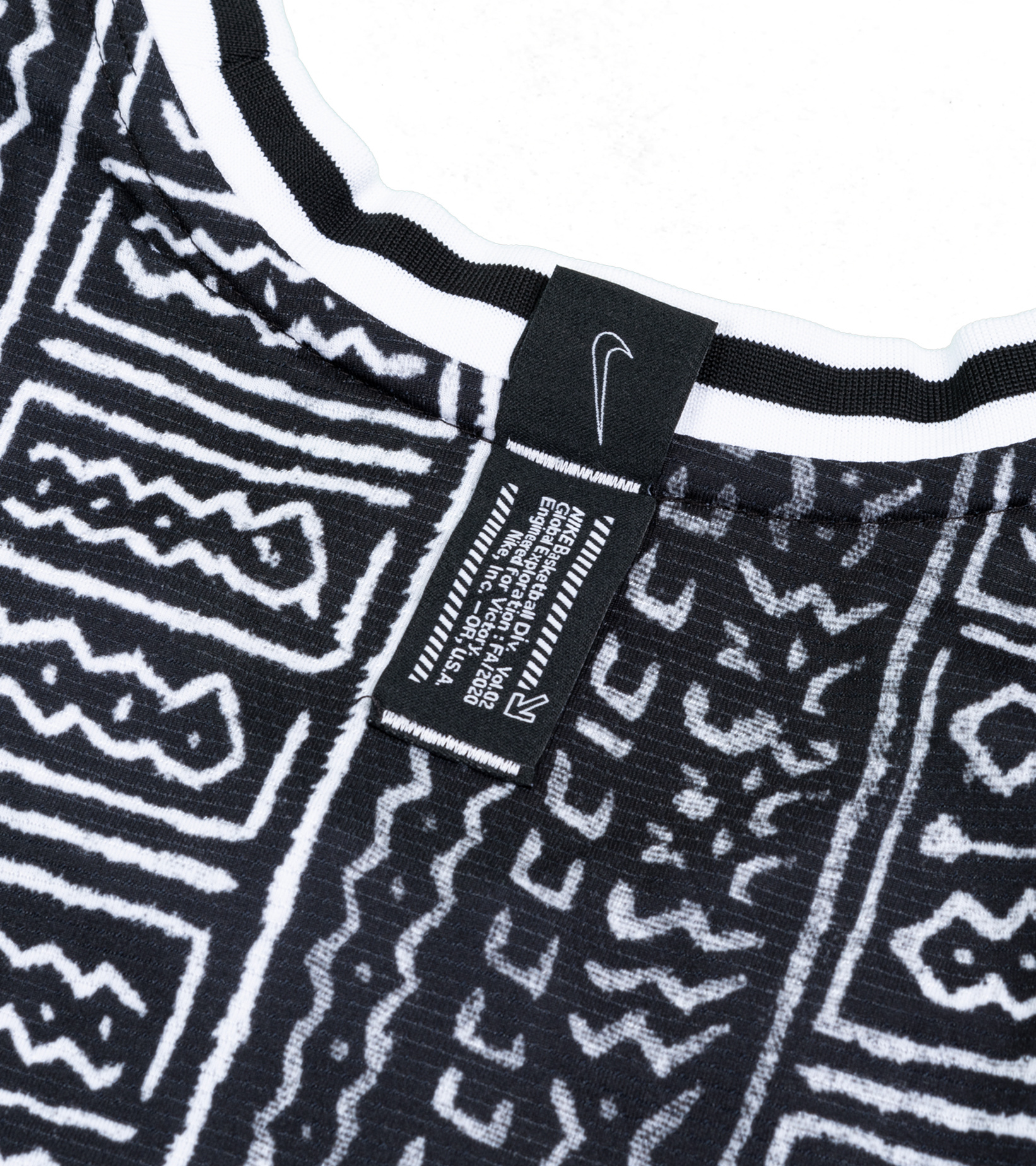 "DNA Global Exploration Jersey ""Black/White""-4"