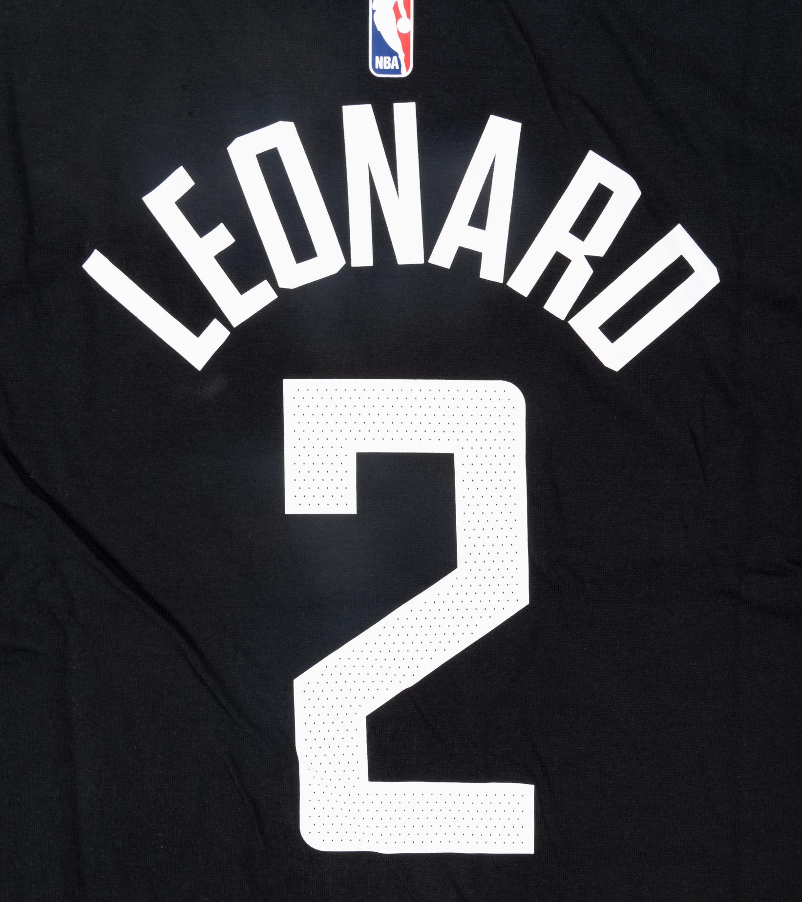 """K. Leonard Statement Edition '20 Dri-Fit Tee """"Black""""-4"""