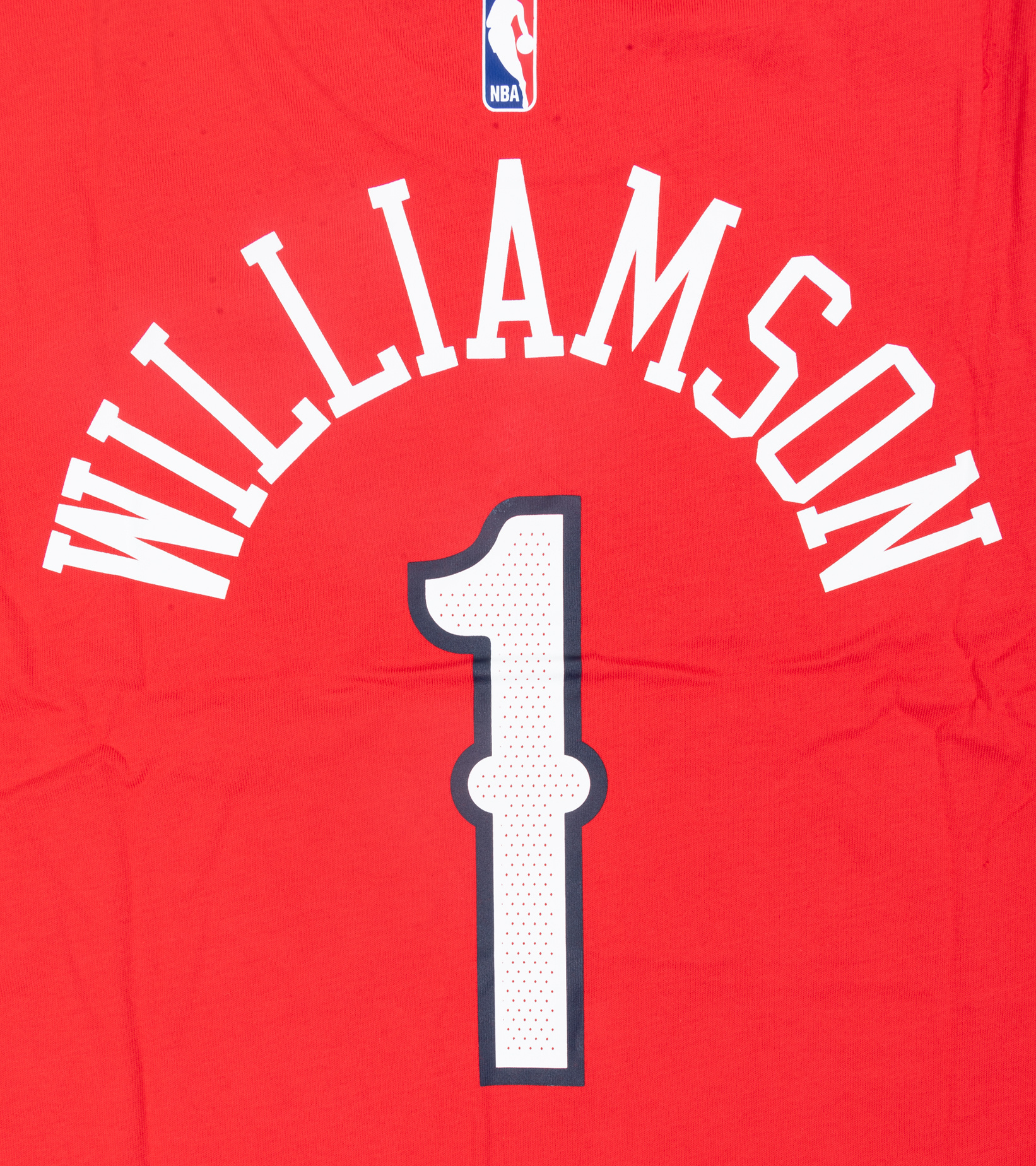 "Z. Williamson Statement Edition '20 Dri-Fit Tee ""University Red""-4"