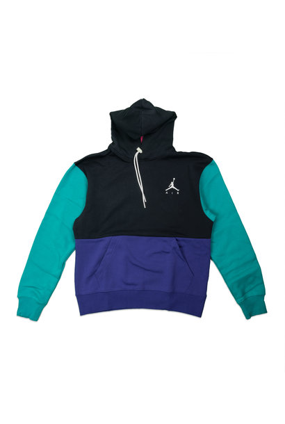 "Jumpman Fleece Hoodie ""Black/Court Purple"""