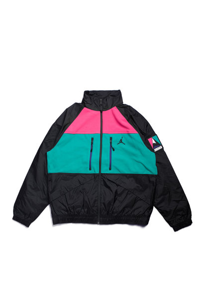"Winter Utility Fleece Jacket ""Black/Multicolor"""
