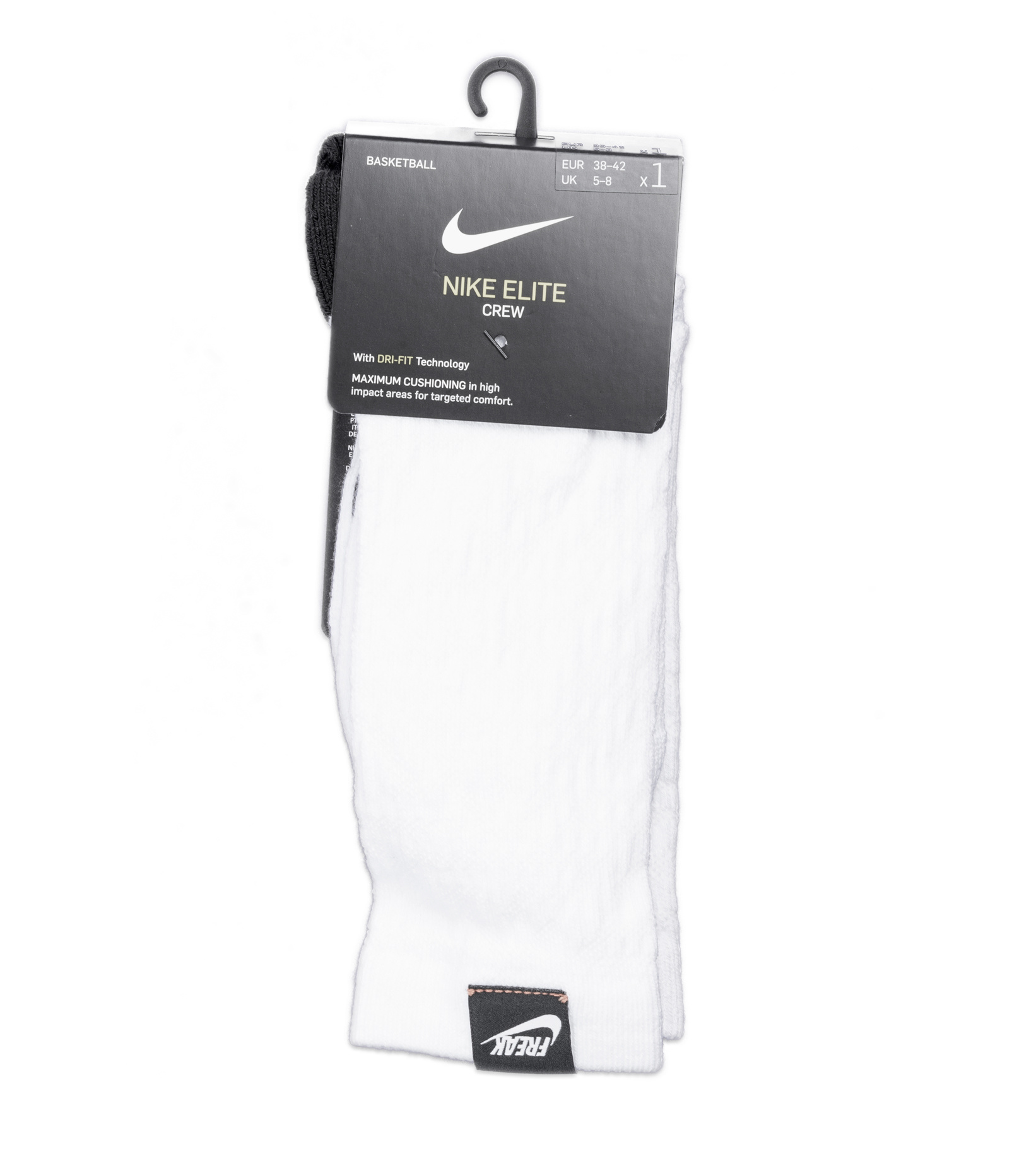 "Elite Crew Giannis Socks ""White""-1"