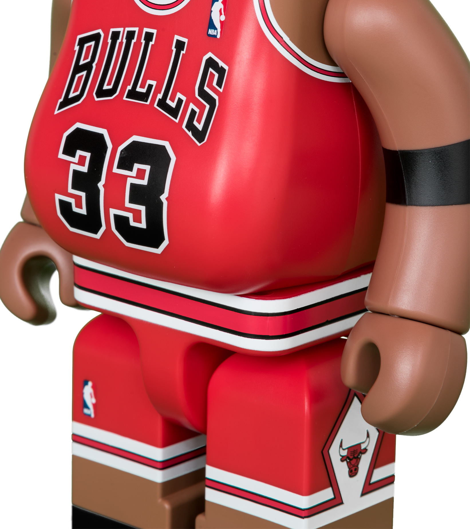 "Scottie Pippen (Chicago Bulls) 100% & 400% Be@Rbrick ""Red""-4"