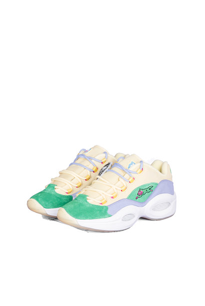 "Question Low x BBC Ice Cream Running Dog ""Yellow/Green"""