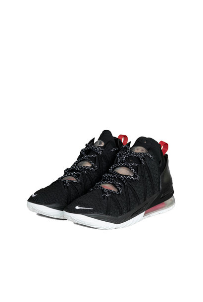 "LeBron XVIII (18) ""Black/University Red"""
