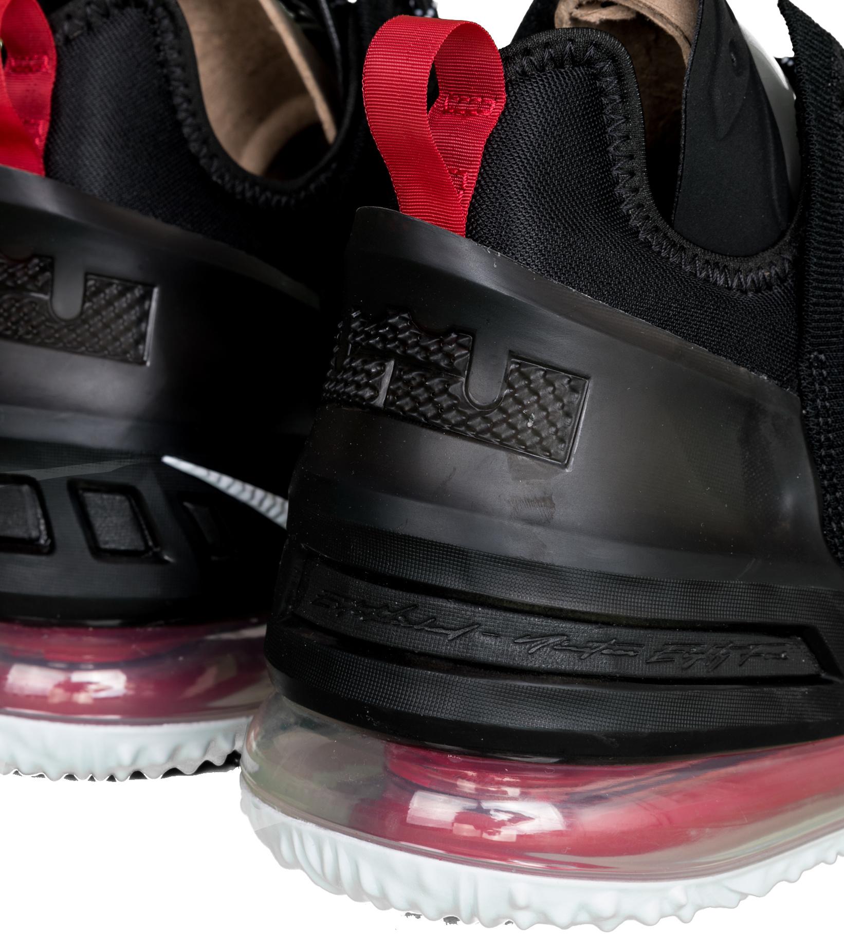 "LeBron XVIII (18) ""Black/University Red""-6"