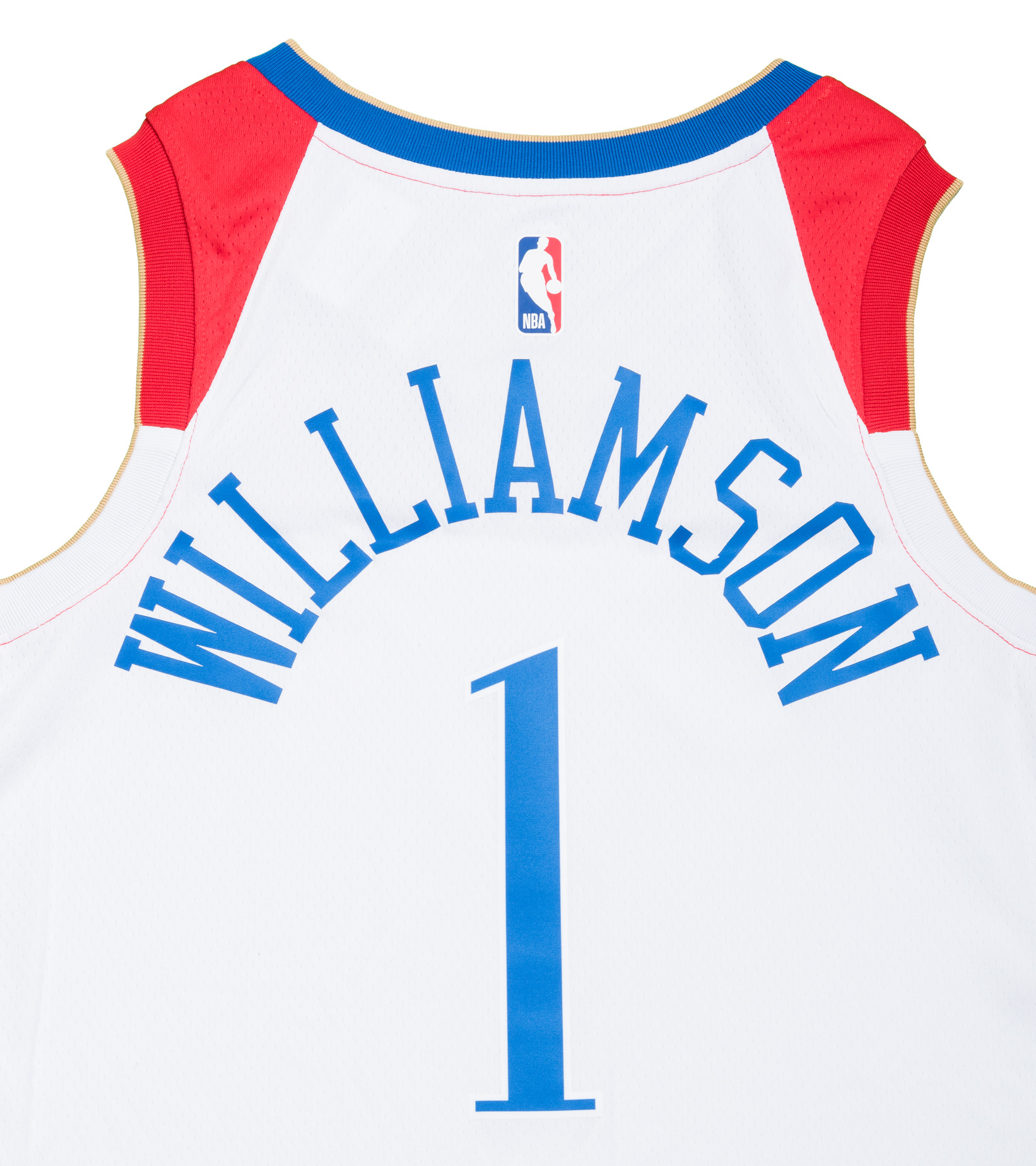 "Z. Williamson City Edition '20 Swingman Jersey ""White""-5"