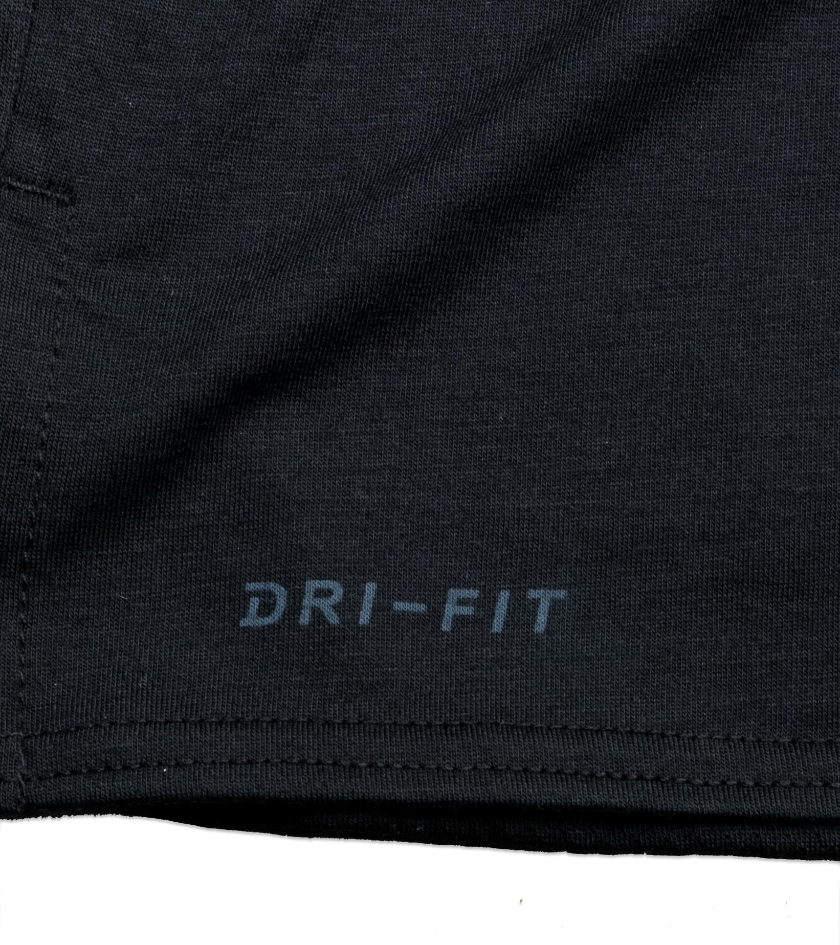 "Dri-Fit Training Tee ""Black/White""-3"