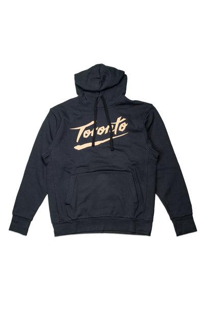 "Toronto Raptors City Edition '20 Essential Hoodie ""Black/Club Gold"""
