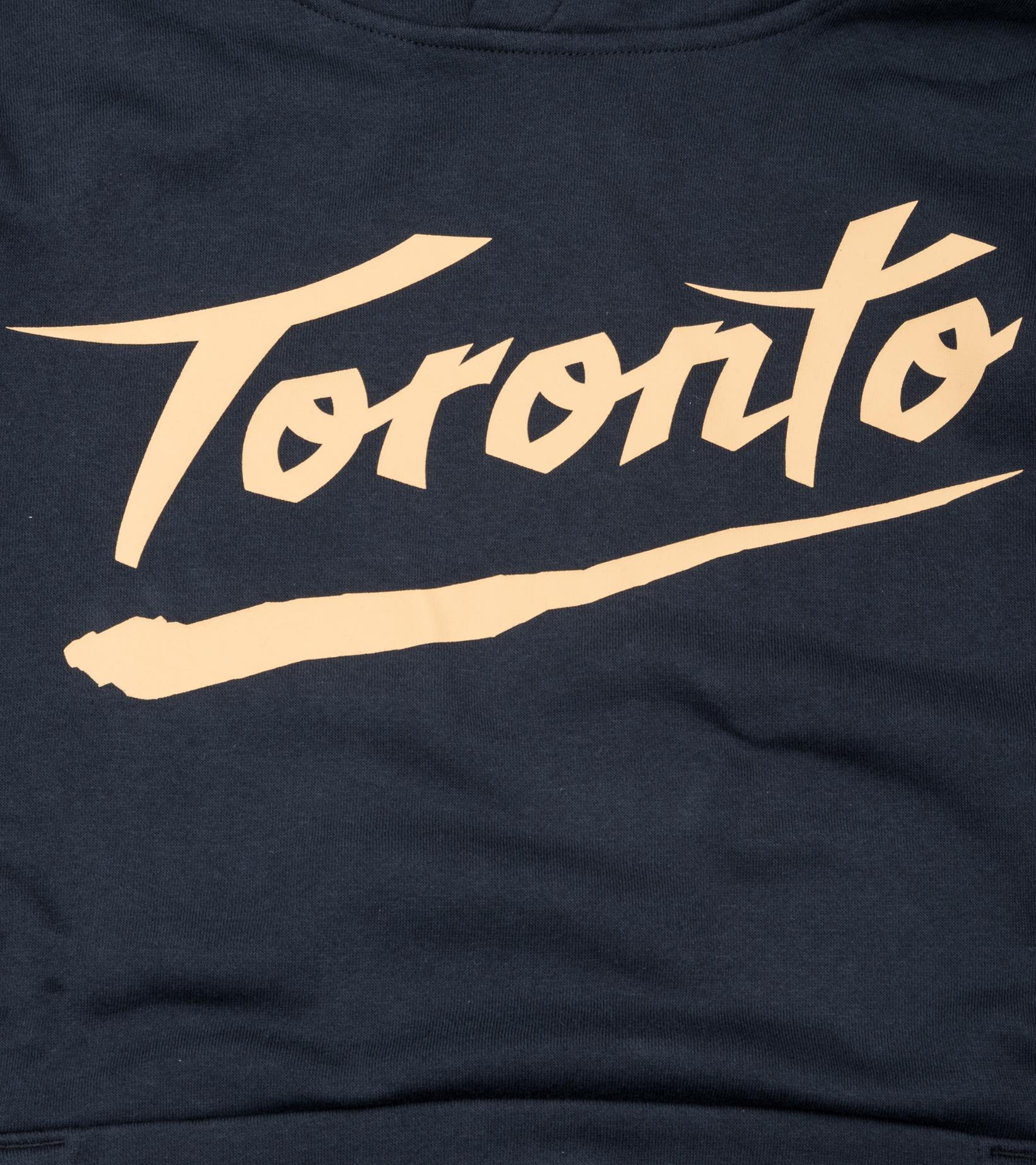 "Toronto Raptors City Edition '20 Essential Hoodie ""Black/Club Gold""-2"