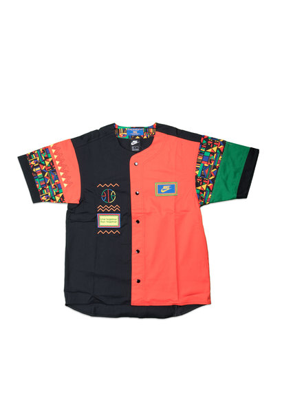 "Re-Issue Urban Jungle Shirt  ""Black/Chile Red"""
