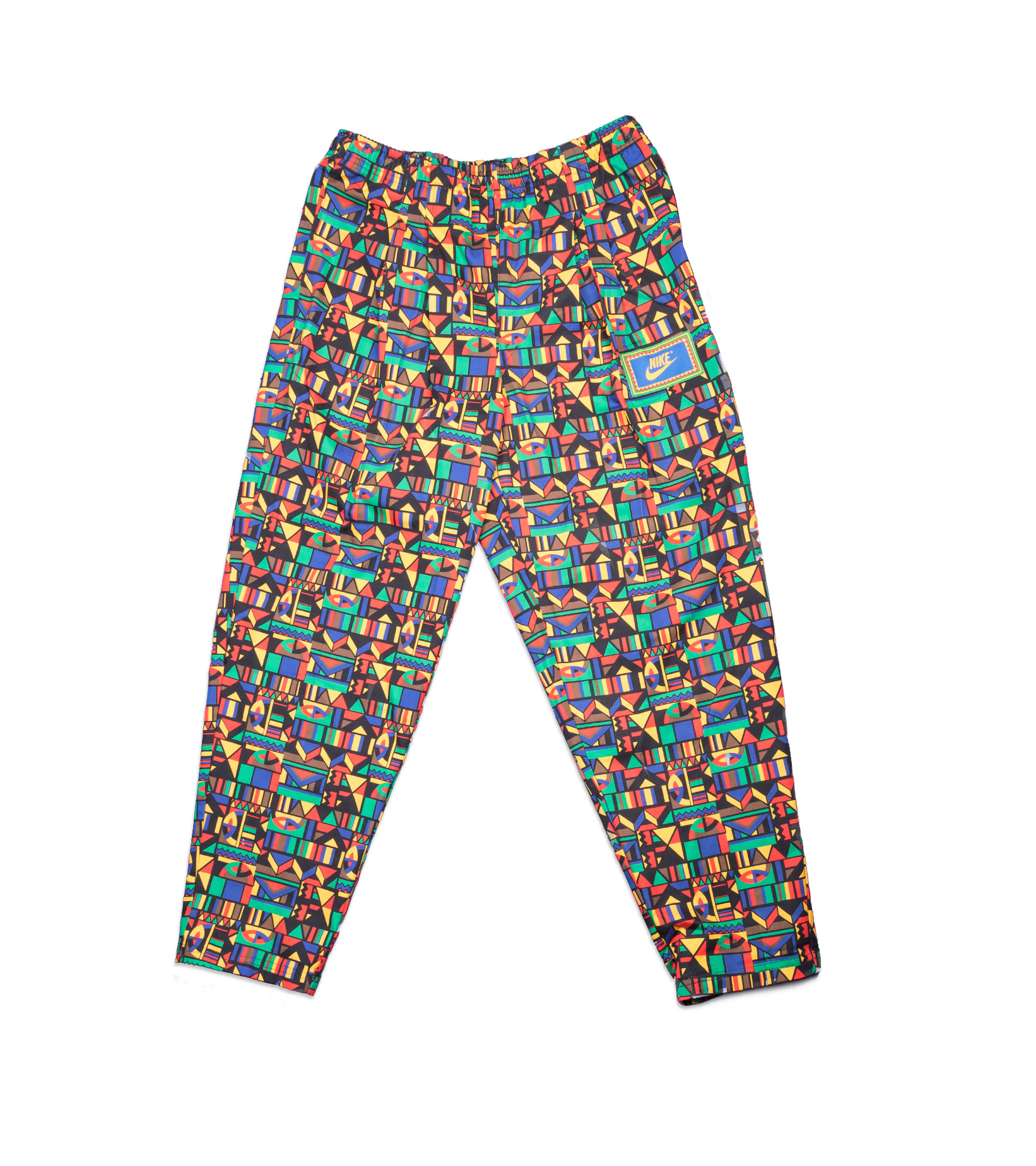 """Re-Issue Urban Jungle Pants """"Black/Chile Red""""-1"""