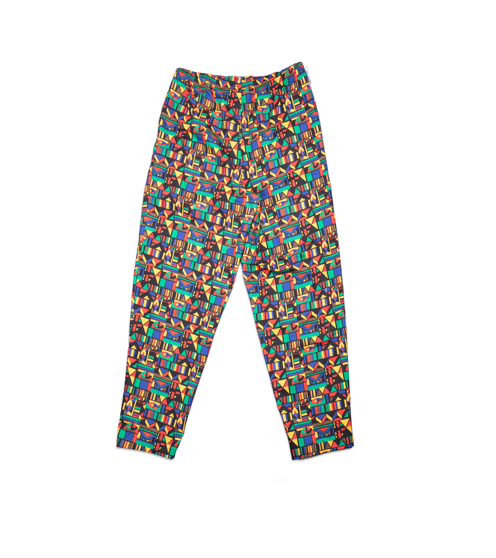 """Re-Issue Urban Jungle Pants """"Black/Chile Red""""-2"""