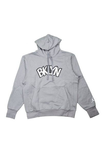 "Brooklyn Nets Statement Edition '20 Hoodie ""Dark Steel Grey"""