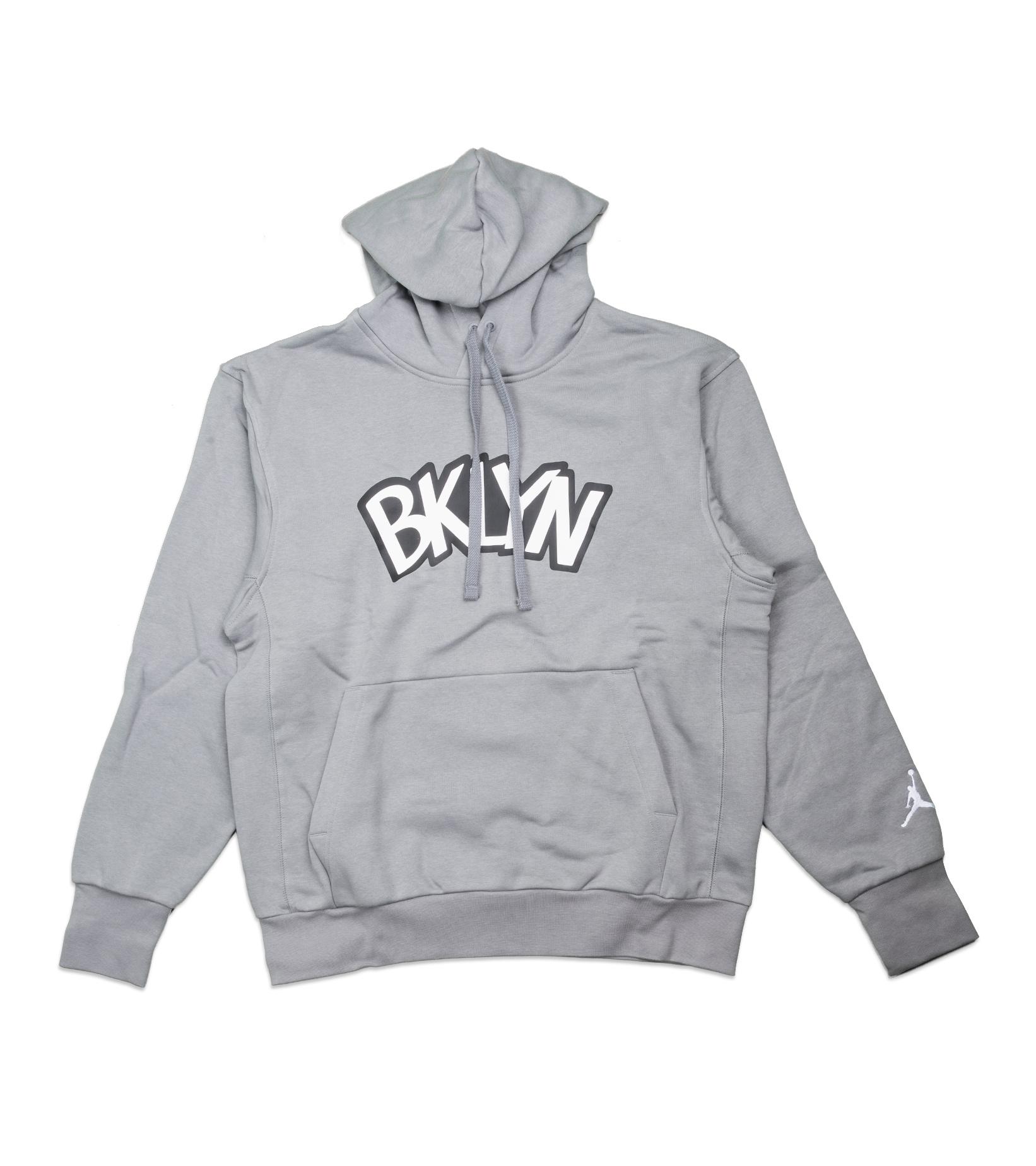 "Brooklyn Nets Statement Edition '20 Hoodie ""Dark Steel Grey""-1"