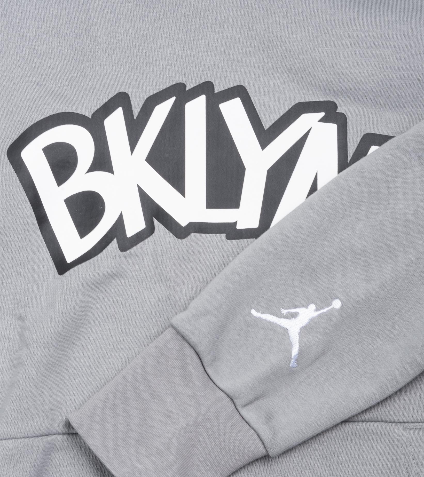 "Brooklyn Nets Statement Edition '20 Hoodie ""Dark Steel Grey""-3"