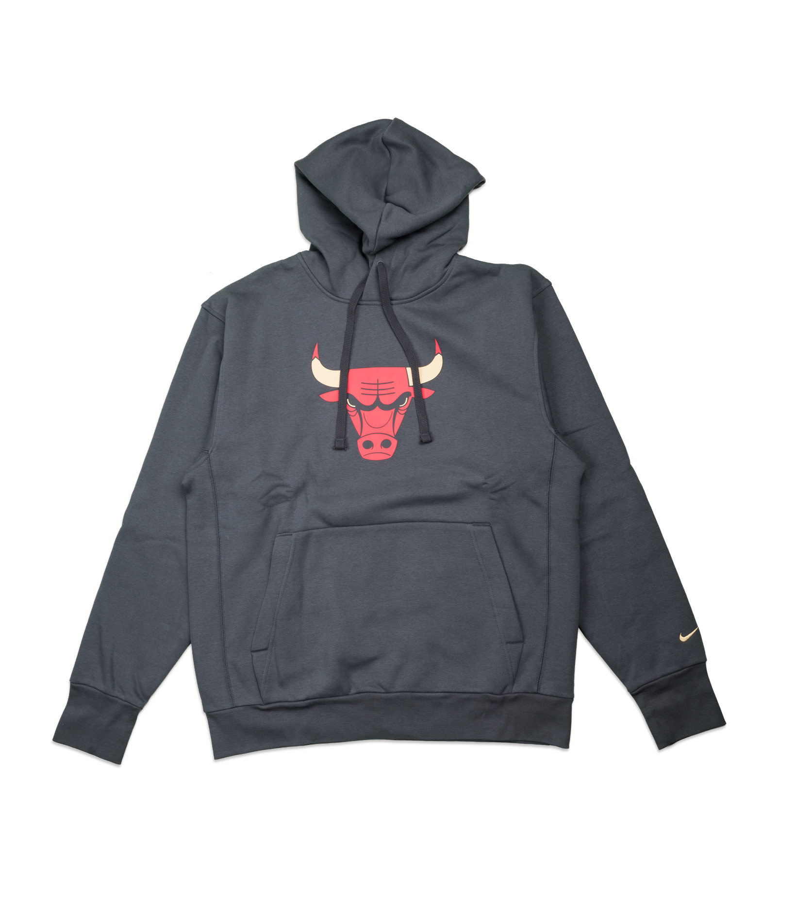 """Chicago Bulls City Edition '20 Essential Hoodie """"Anthracite/Gold""""-1"""