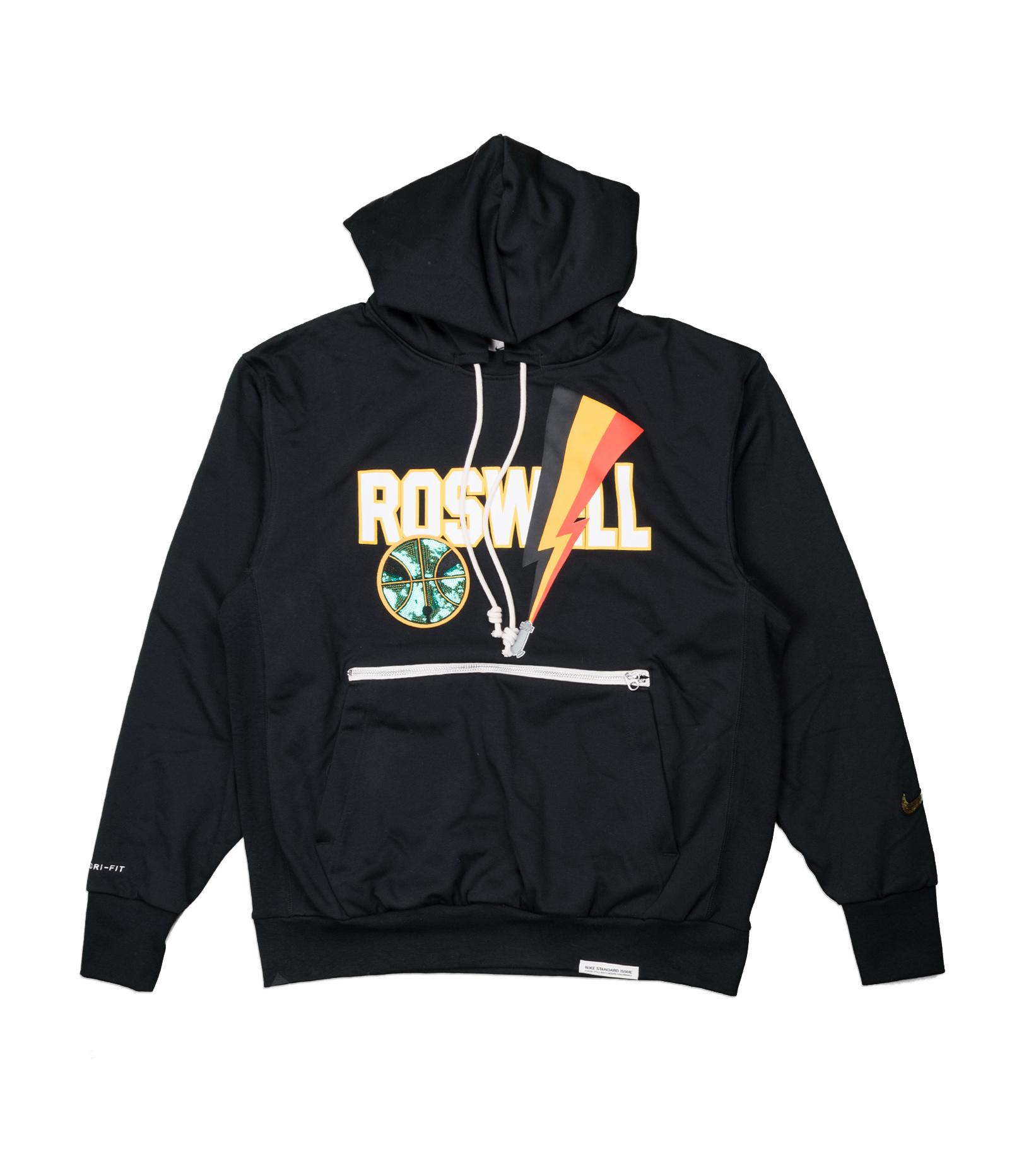 "Rayguns Basketball Premium Dri-Fit Hoodie ""Black""-1"