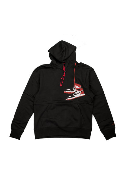 "Jumpman Holiday Hoodie ""Black"""