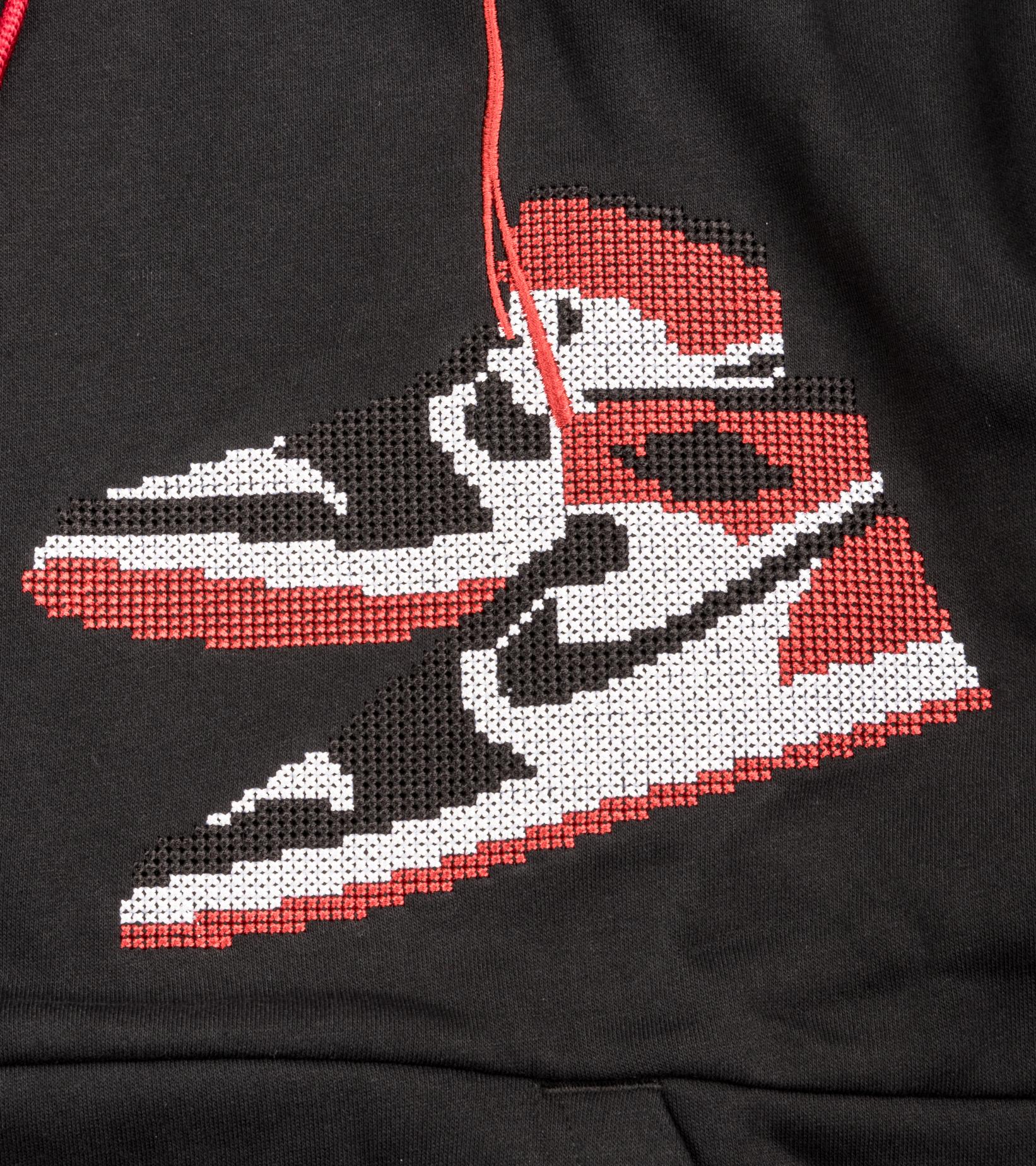 """Jumpman Holiday Hoodie """"Black""""-2"""